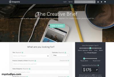 Snapwire, Aplikasi Foto Untuk Menjual Gambar Secara Online