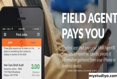 Field Agent, Aplikasi Crowdsourcing Penghasil Uang