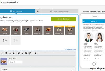 Appy Pie, Website Pembuat Aplikasi Dari India