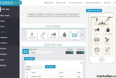 Siberian CMS, Web Pembuat Aplikasi Yang Bermanfaat