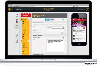 AppMachine, Pembuatan Aplikasi Yang Berbasis di Belanda
